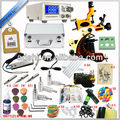 Pro Value Tattoo Machines Kit 2 Machine Guns Power Supply 54 Inks Set Equipment
