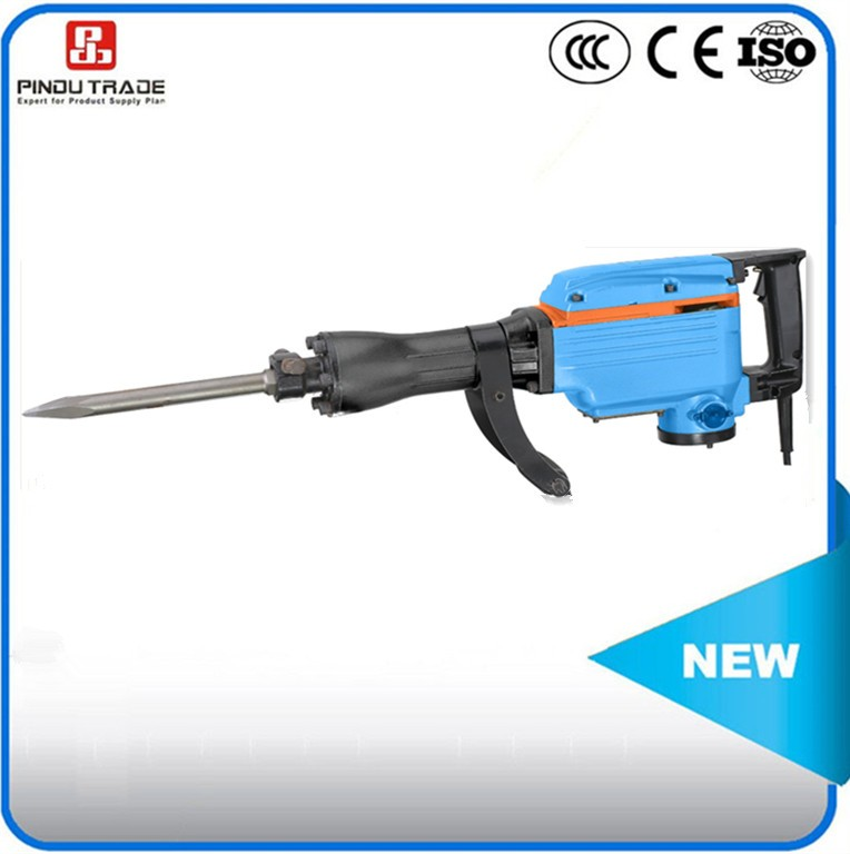 high powerful electric demolition chipping breaker hammer