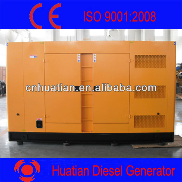Super Silent Type Diesel Generator 500KVA with Cummins Engine
