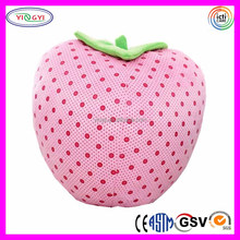 E536 Cartoon Pillow Strawberry Simulation Fruits Shaped Cushions Bolster Strawberry Shaped Pillow