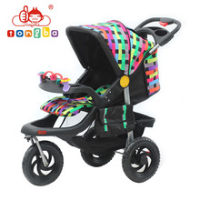 Baby Doll 3 Big Wheels Baby Stroller Tricycle