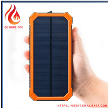 Made in china new arrival 15000 mah solar power bank for cellulars