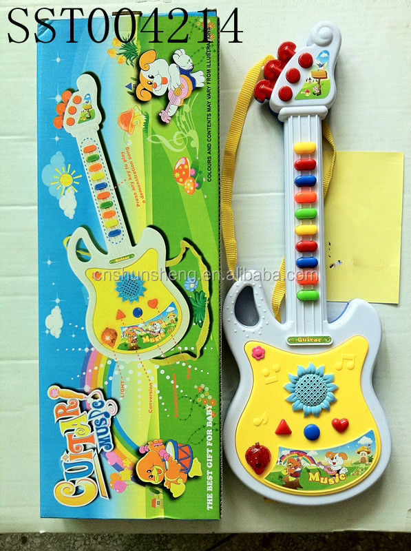 Hot Sale Educational Games Musical Toy Guitar Toys