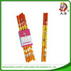 free sample color hb pop up pencil with plastic rubber pass EN71