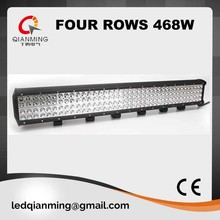 four rows 36inch 468W led light bar for jeep suv 4wd ute offroad ip67