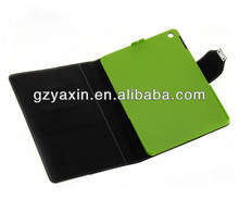 Elegant Style Cover Folio Leather Phone Case for ipad 5