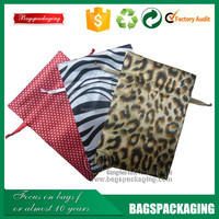 reversible satin drawstring jewelry package pouch bag wholesale