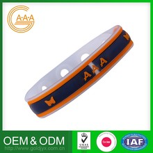 Custom Silicone Bracelet Wholesale Soft Football Teams Power Bracelets