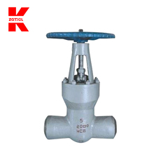 Metal seated extended stem welded gate valve