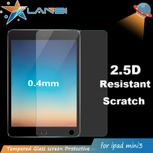 Hot sale For iPad mini 1 2 3 Premium Tablets pc high transparent 0.3 0.4mm 2.5D anti broken Tempered Glass screen protector