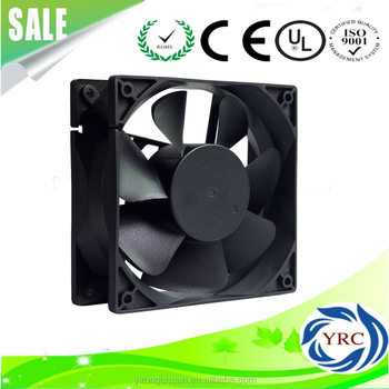 12038 24 volt 120*120*38 mm DC Cooling Fans with Super High Air Flow and Pressure