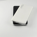 5V 2A outpu wholesales portable imitation leather 7000mAh power bank