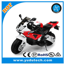 12V licensed BMWRS1000 Bike with two motors EVA tires Kids Christimas and birthday gifts ride on motorcycle