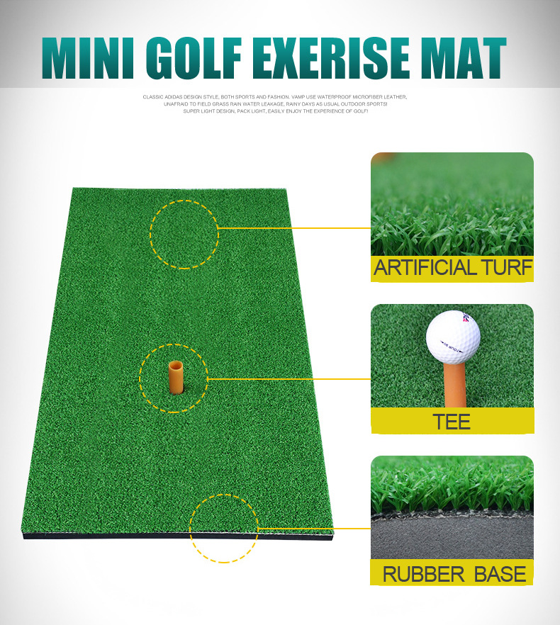 30*60cm Golf driving range practice hitting mat