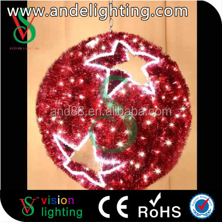 New garland light decoration led ball Christmas made in china