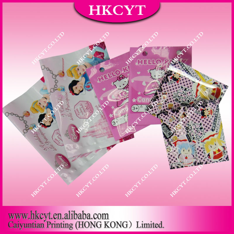 Customized design logo Facial mask bag/cosmetic tool packaging pouch for heat sealed