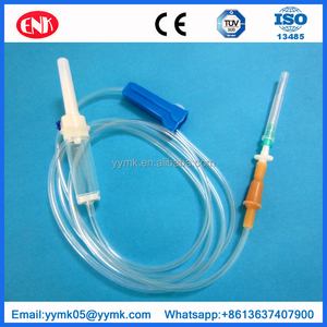Medical transfusion intravenous infusion set medical disposable