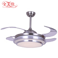 42'' Air Cooling Fan Copper Motor Invisible Blade Ceiling Fan Light
