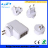 factory sale new design 4 ports universal multi usb charger