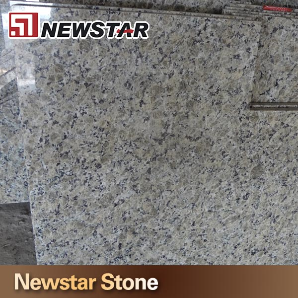Newstar Popluar Color Yellow Butterfly Pre Cut Granite Table Top