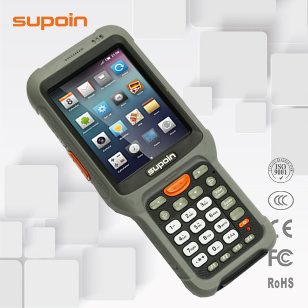 Supoin S53 Android 1D/2D Handheld barcode scanner smartphone terminals with 3G/WIFI/BT/IP65/Camera RFID