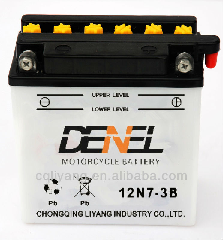 gel batteries for motorcycles/Motorcycle Battery 12N7-3B