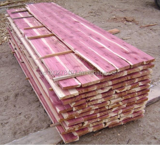 Aromatique c dre rouge t g planche de bois panneaux de for Prix du cedre rouge