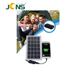 multifunctional solar charger multifunction solar mobile phone charger for camping hiking riding outdoor use