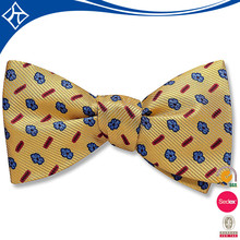 New style female flashing wooden bow tie