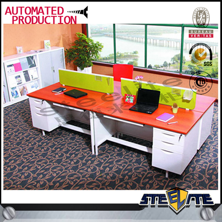 metal modern executive desk office table design guangzhou cheap office table workstation