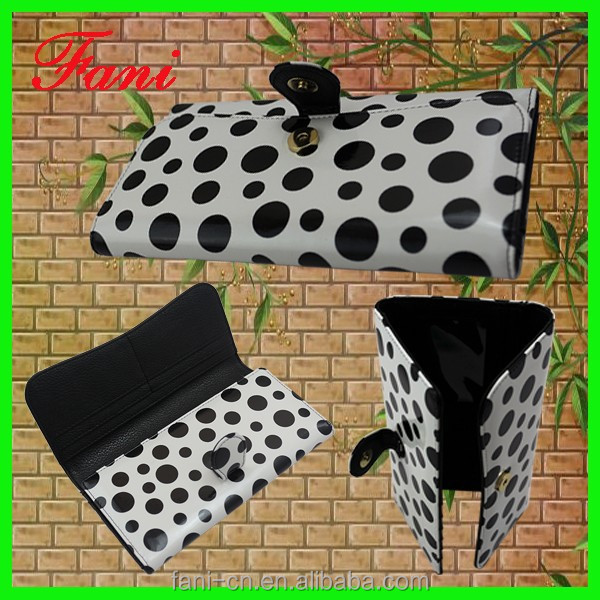 Fashion and elegant appearance latest design PU/leather wallet or purses for ladies/women