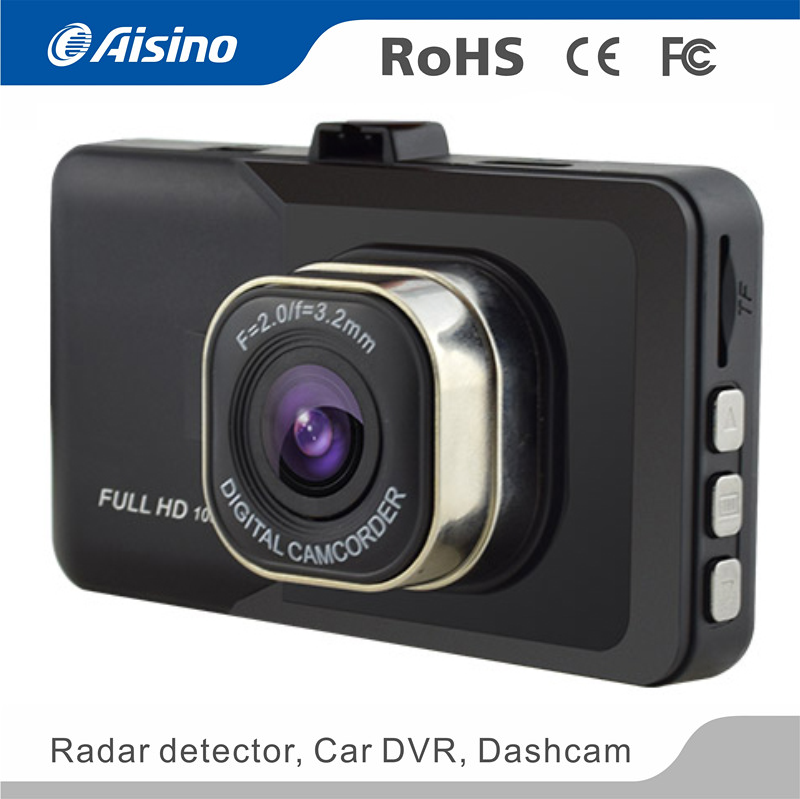Vehicle video recorder Aisino 2017 cheap car/ motorcycle DVR automobile camera