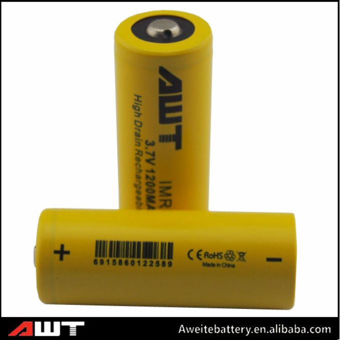 Direct factory!18490rechargeable lithium ion battery 3.7V