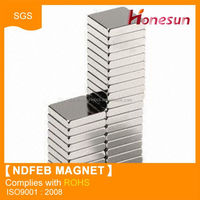 China industrial block neodymium magnet for selection
