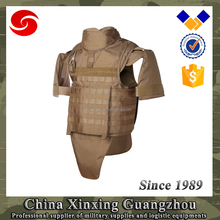 0.65m2 Molle body armor full bulletproof jacket sale with arm groin protection