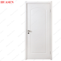 Plywood Flush Cardboard PVC Bathroom Door