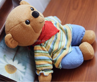 2016 new customizes the cool cute stuffed plush strong teddy bear for promotion gift