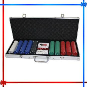 Ltd 500-piece poker chip set
