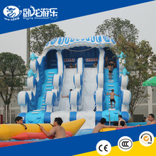 giant cheap inflatable water slides for sale