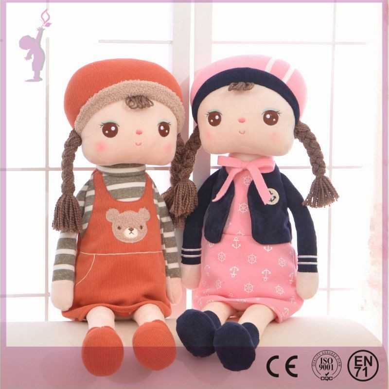 Alibaba Good Quality Wholesale Custom Stuffed Toy Plush Fairy Doll For Promotion and baby gift