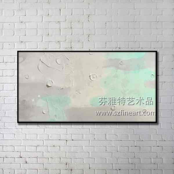 Handmade Textured Abstract Art Oil Painting