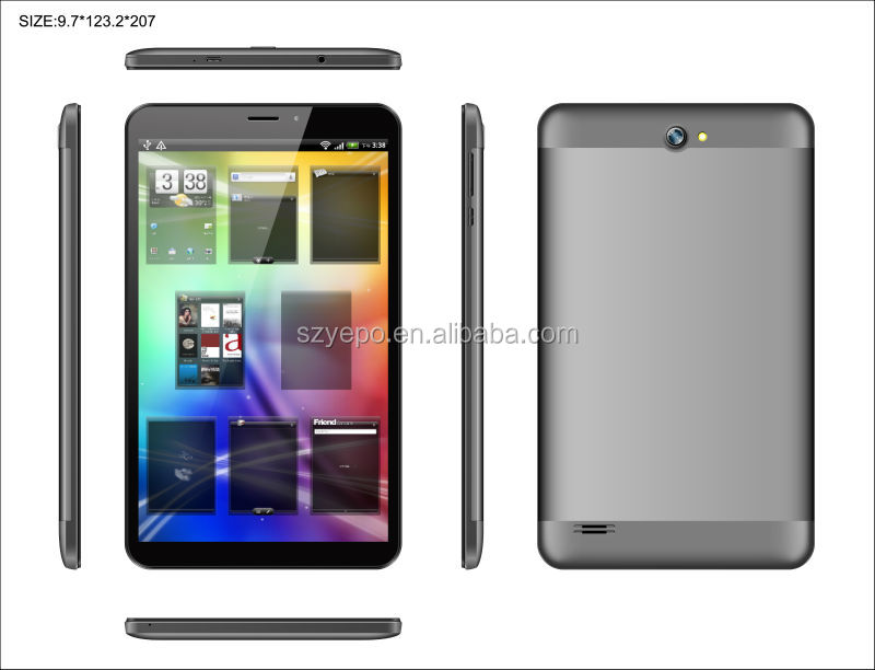 MTK 8127 Vatop 2014 New Tablet PC Slim Metal Android 4.4 O/S IPS 8 inch Quad Core Tablet