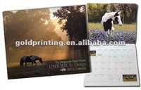 2013 wall calendar printing and design