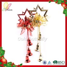 Butterfly Ningbo 2015 Chinese Manufacturer Cheap Hanging Outdoor Christmas Bell Home Wall Decoration