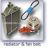 tractor radiator and fan belt