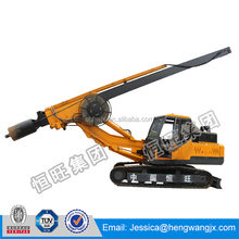 High quality pile foundation construction equipment; rotary drilling rig for sale