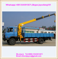 Engine Crane 7ton,7t Truck Mounted Crane Hydraulic Mobile Crane