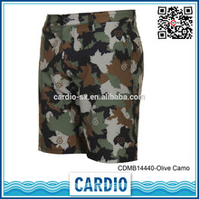 fashion design quick-dry oem service mens army polyester surf board shorts mens custom made boardshorts compression