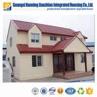 High Quality Low Cost Famous Steel Building Design Prefab House In Nepal Price