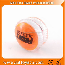 OEM cheaper logo design yoyo ball with light free yoyo